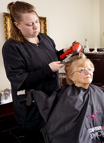 Canada S Home Hair Dressing Institute Home Hair Stylist In Home Hairdresser Montreal Quebec Gatineau